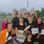 Teamstaffel-Lauf
