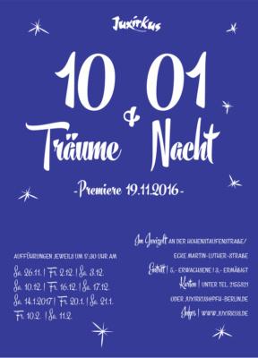 Programmheft 2016 | 10 Träume und 01 Nacht