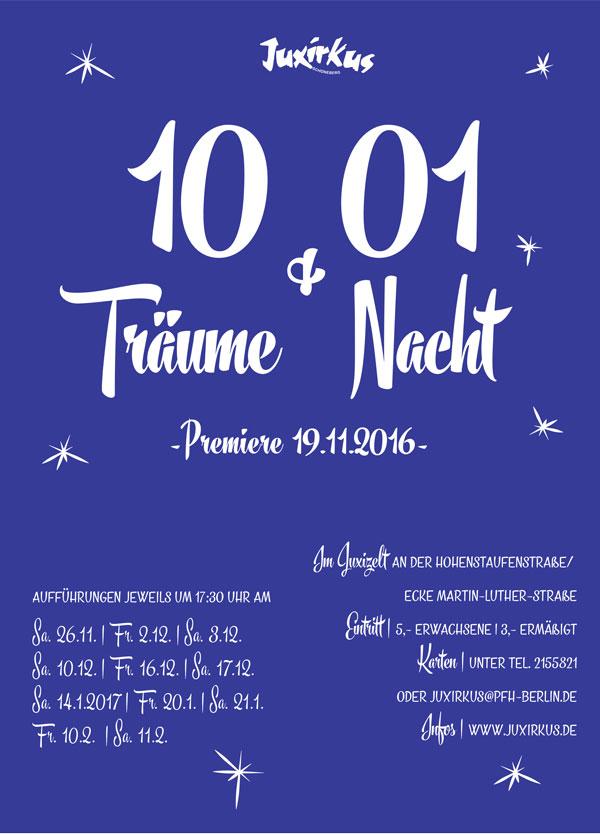 Programmheft Winter 2016 | 10 Träume & 01 Nacht