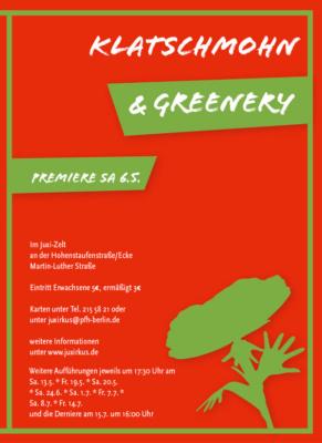Programmheft 2017 | Klatschmohn und Greenery