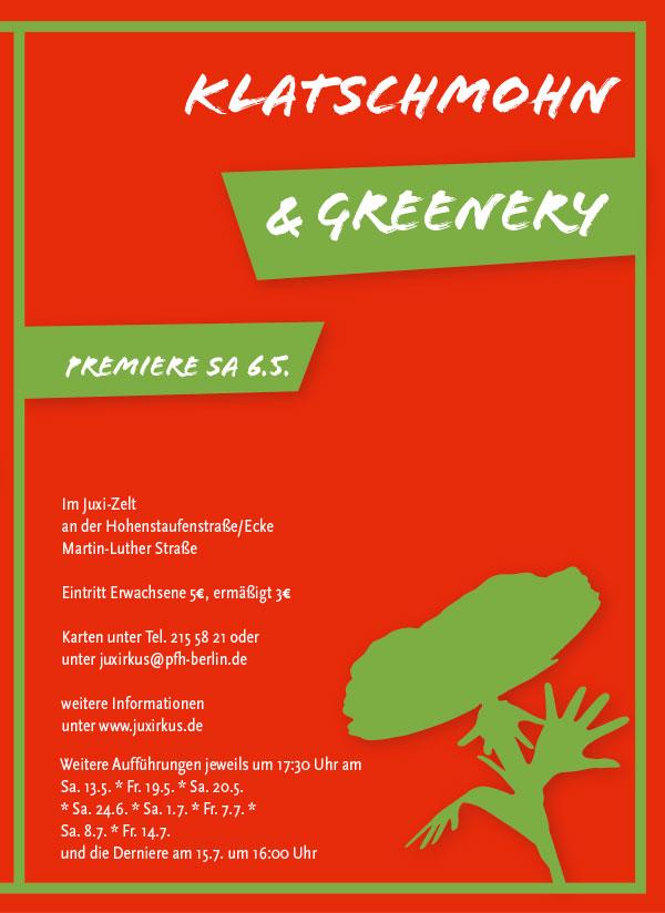 Programmheft Sommer 2017 | Klatschmohn & Greenery
