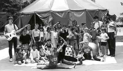 Das erste Foto – das erste Zelt