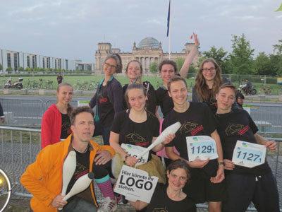 Teamstaffellauf im Tiergarten 5 x 5 km