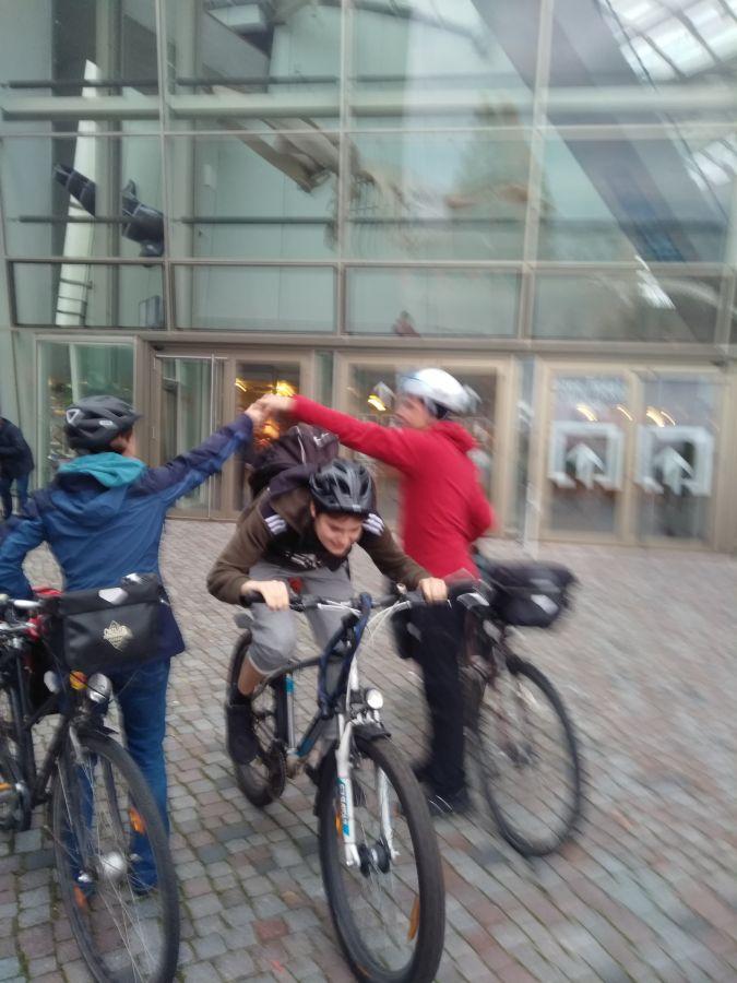 Fahrradfahrt nach Rügen zur Juxireise